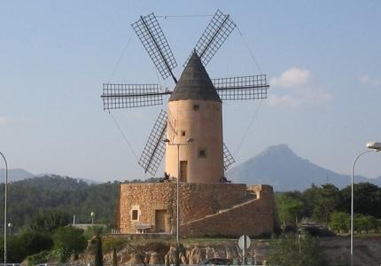 Mallorca windmill